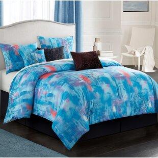 Ebern Designs Hooks 7 Piece Comforter Set