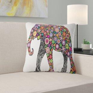 Animal Cheerful Elephant Pillow