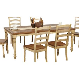 Courtdale Ladder Back Solid Wood Dining C..