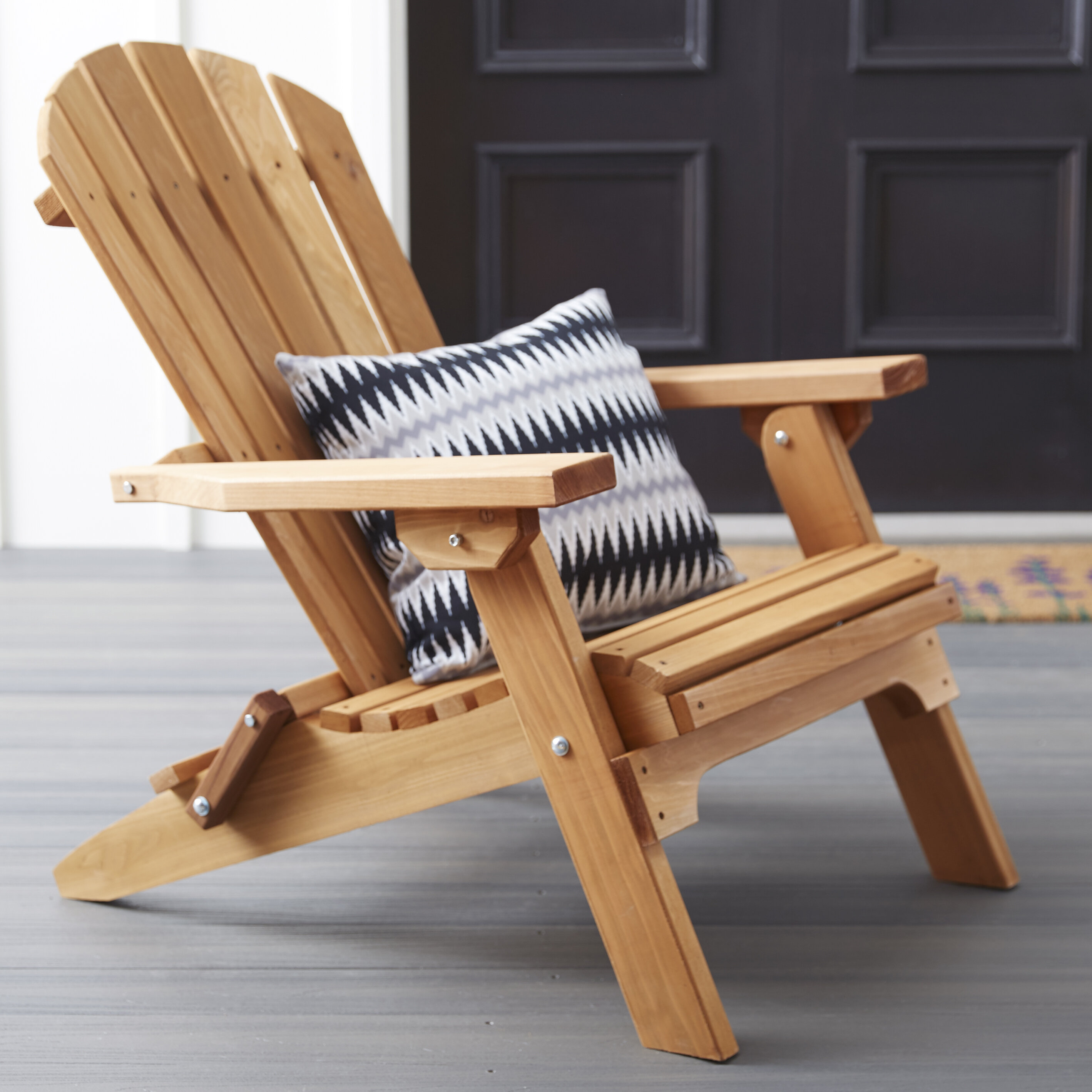 Miraculous Tustin Solid Wood Folding Adirondack Chair Squirreltailoven Fun Painted Chair Ideas Images Squirreltailovenorg