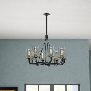 Trent Austin Design Beatrice 8-Light Shaded Chandelier