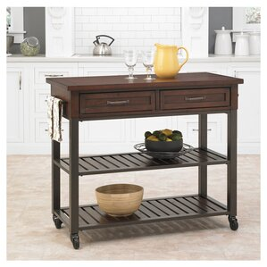 Vaccaro Kitchen Island by Mercury Row