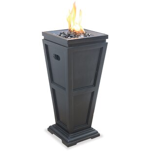Uniflame Corporation Stone Propane Fire C..