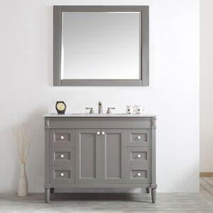 Millfield 48 Single Vanity Set with Mirror
