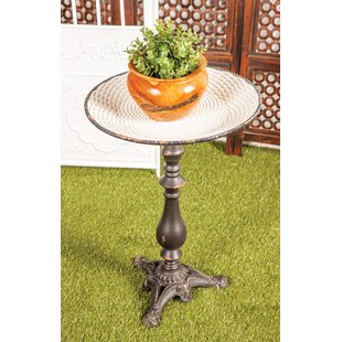 Parkison Traditional Round Tray End Table