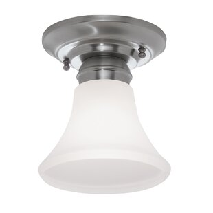 Tom 1-Light Semi Flush Mount b..