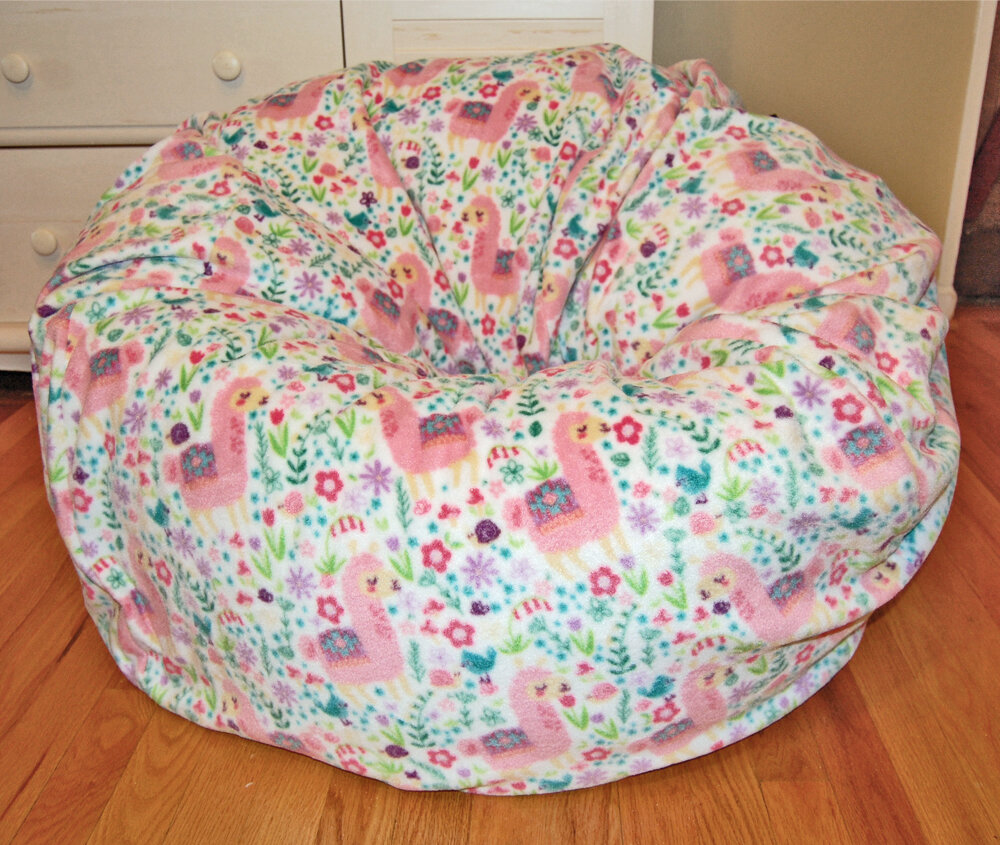 pink the buy deeply bean bag kids white fur comfortable chair glass into