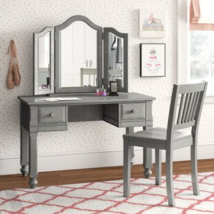 Nickelsville Vanity Set with Mirror by Three Posts Baby amp Kids