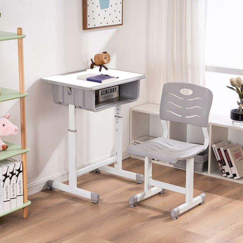 Latitude Run Aadithya Kids 2 Piece Table And Chair Set Wayfair