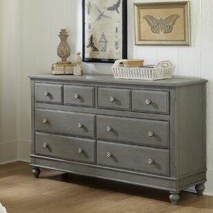 Nickelsville 8 Drawer Dresser