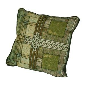 Frank Lloyd Wright Ward Willits Cotton Throw Pillow