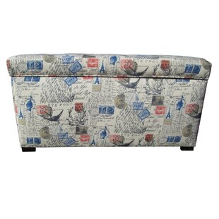 Lark Manor Pavot Fabric Storage Bench
