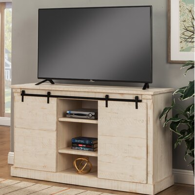 17 Stories Benefield TV Stand for TVs up to 60 inch Color Antique White