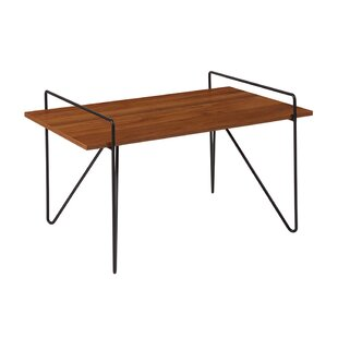 Basinger Wood Grain Finish Center Coffee Table
