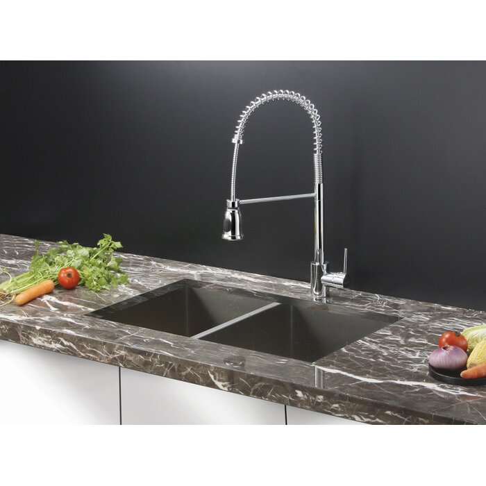 Nesta 30 L X 19 W Double Basin Undermount Kitchen Sink