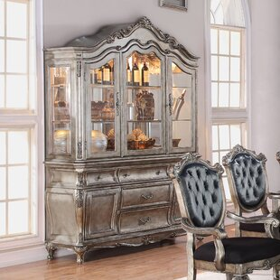 Wensley Lighted China Cabinet