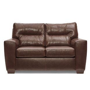 Oliver Leather Loveseat
