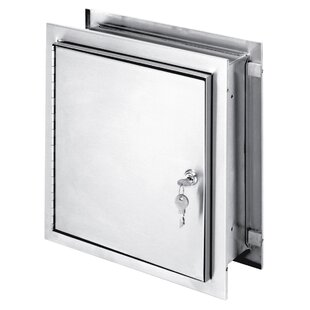 11.5 W x 12 H Wall Mounted Cabinet by Omnimed