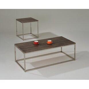 17 Stories Aurelio 2 Piece Coffee Table Set
