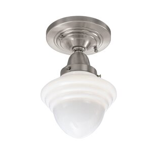 Lanette 1-Light Semi Flush Mount by Red Barrel Studio