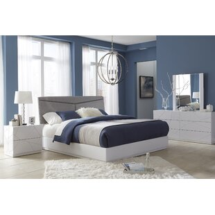 Landy Upholstered Panel Bed