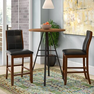 "Zigler 25"" Dining Chair (Set of 2) by Latitude Run SKU:BC676179 Reviews"