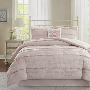 Bridget 5 Piece Comforter Set by Lark Manor