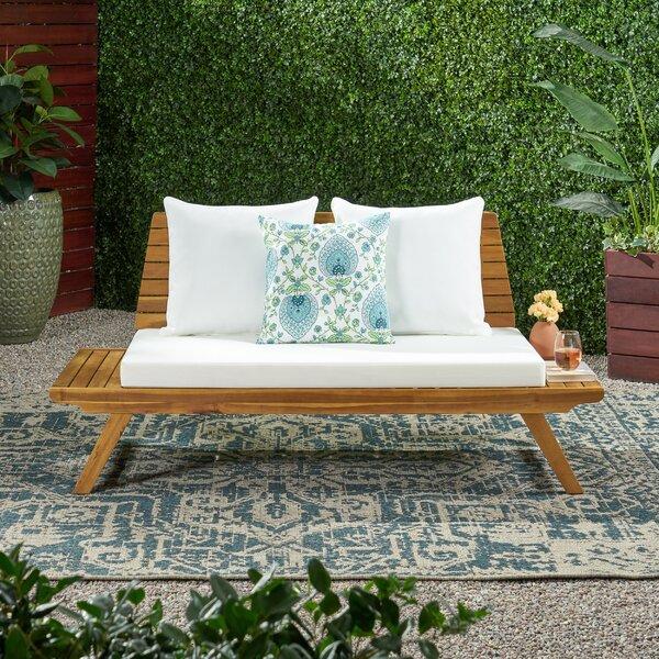 Prime Outdoor Wooden Loveseat Wayfair Evergreenethics Interior Chair Design Evergreenethicsorg