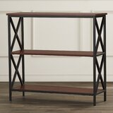 Abbottsmoor 29.25 H x 31.5 W Metal Etagere Bookcase by Andover Mills™