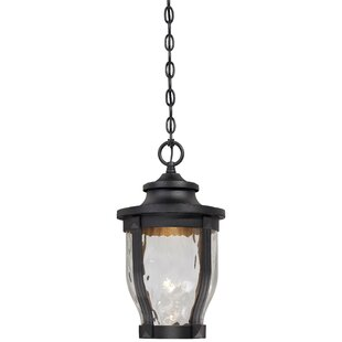 Compare Porterfield 1-Light Outdoor Hanging Lantern By Three Posts