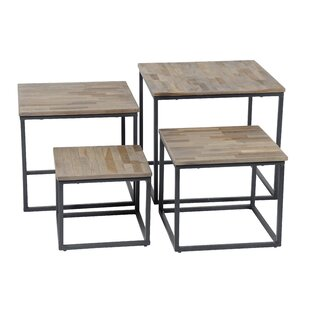 Riley 4 Piece Coffee Table Set By Mercury Row