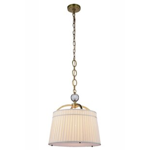 Rosdorf Park Sharonda 1-Light Drum Pendant