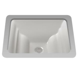 Find a Aimes Ceramic Rectangular Undermount Bathroom Sink By Toto