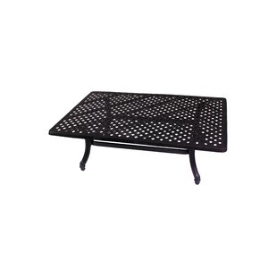 Baldwin Aluminum Coffee Table
