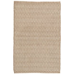 Crystal Brown/White Indoor/Outdoor Area Rug