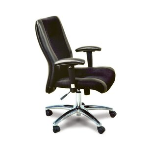 Mayline Group Mercado Mid Back Leather / Mesh Chair
