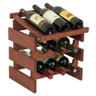 Dakota 9 Bottle Tabletop Wine Rack by Woo..