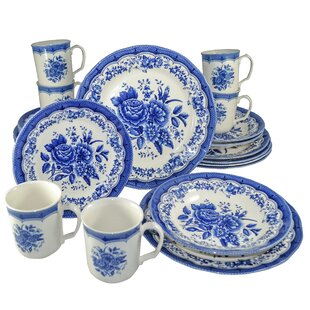 Royal Classic Victoria 24 Piece Dinnerware Set, Service for 6