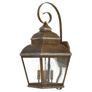 Saniyah 4-Light Outdoor Wall Lantern
