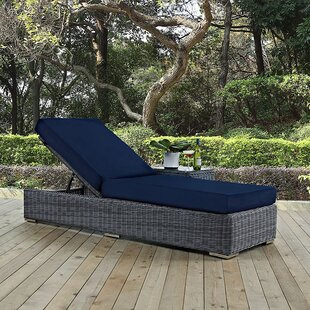 Keiran Chaise Lounge with Cushion