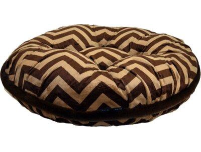 """Chevron Dog Bed Baylee Nasco Size: Small (30"""" L X 30"""" W)"""