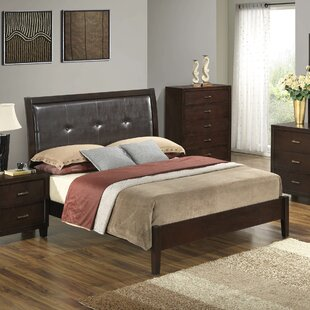 Hoytville Upholstered Panel Bed by Three Posts