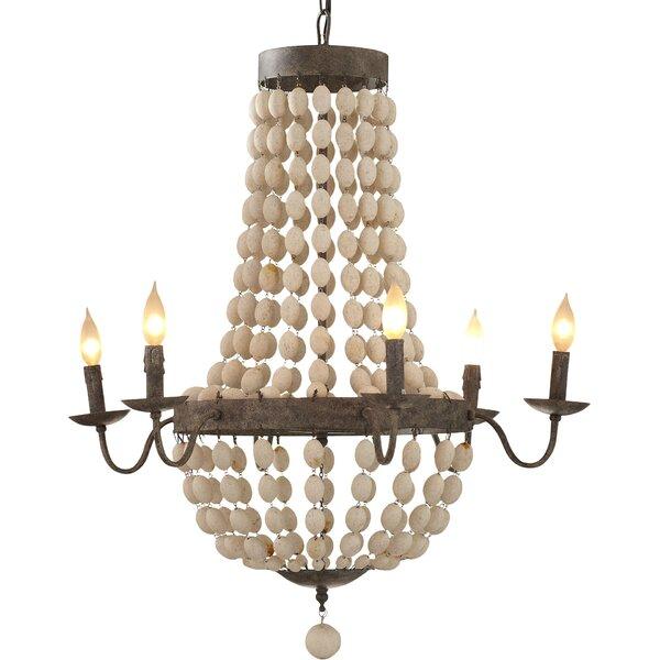 Addington 6 Light Candle Style Chandelier