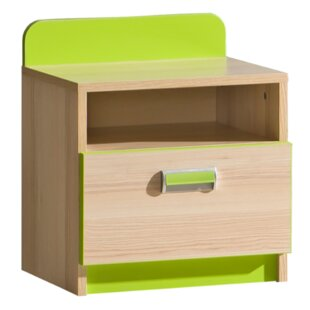 Review Lorento 1 Drawer Nightstand
