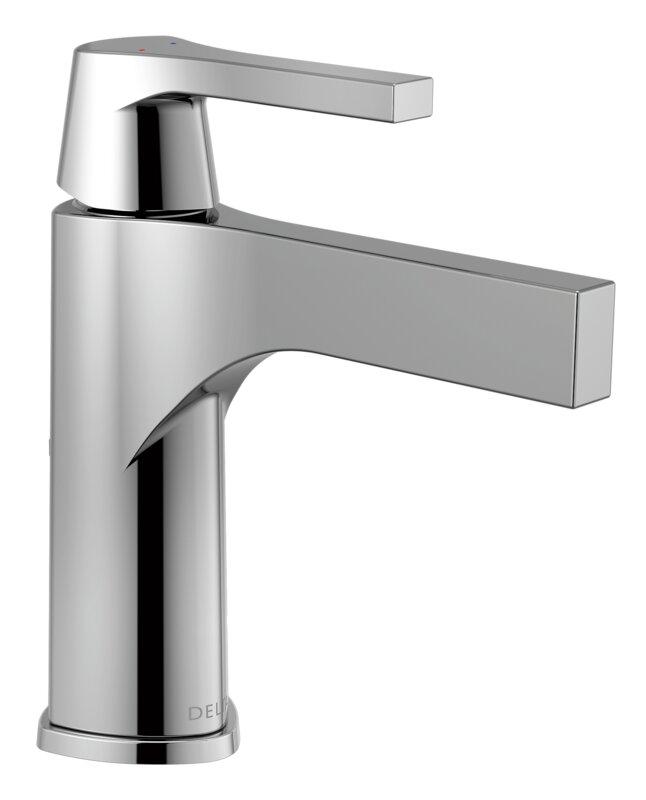 Zura Single Hole Bathroom Faucet And Diamond Seal Technology