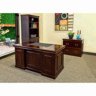 Absolute Office Combo 3 Piece Desk Office Suite