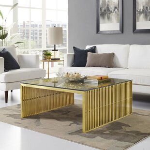 Best Price Gunnar Coffee Table By Wade Logan