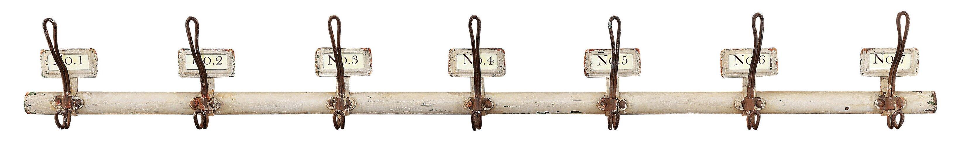 Coat Hooks rustic numbered coat hooks & reviews | birch lane