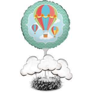 Up, Up, and Away Paper Disposable Balloon Centerpiece Kit