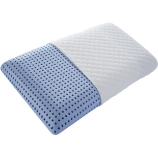 Enzo Ventilated Gel Infused Memory Foam Queen Pillow